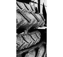 stacked tires Photographic Print
