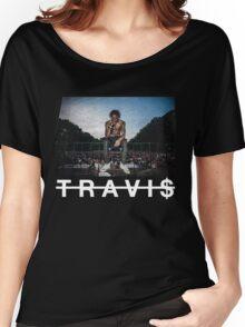 TRAVI$ SCOTT Women's Relaxed Fit T-Shirt