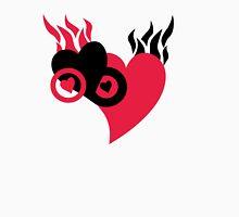 Hearts on Fire Unisex T-Shirt