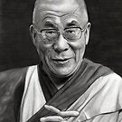Dalai Lama by Martin Lynch-Smith