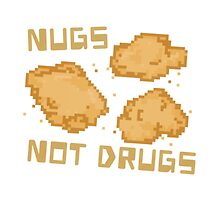 Chicken Nuggets - Nugs not Drugs Pixel Food! by SugarHit