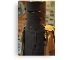 Ned Kelly Armour - Glenrowan Visitors Centre / Museum Canvas Print
