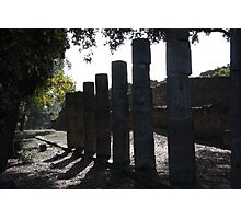 Ruined collonade - Pompei Photographic Print