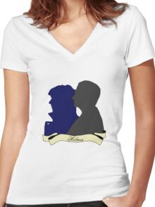 The Holmes Brothers Women's Fitted V-Neck T-Shirt