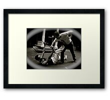 For Honor Framed Print
