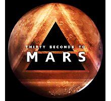 30 Seconds to Mars: Planet Design Photographic Print