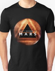 30 Seconds to Mars: Planet Design Unisex T-Shirt