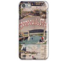 Gustave Fraipont Argenteuil Mantes affiche Chemins de fer iPhone Case/Skin