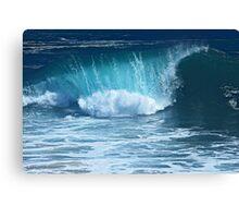 The Curl (The Wedge, Newport Beach, California) Canvas Print