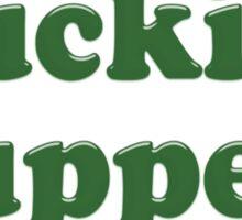 Mucking Fuppets Sticker