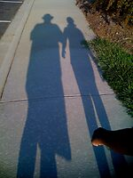 Walking With Pops by Troy  Hull