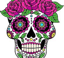 skull roses by Fabien  photofab.fr