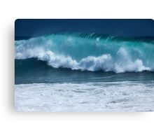 Pacific Wave (The Wedge, Newport Beach, California) Canvas Print