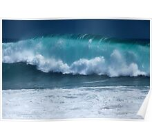 Pacific Wave (The Wedge, Newport Beach, California) Poster