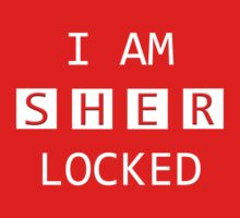 I Am SHER Locked Kids Tee