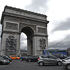 Arc de Triomphe, Paris by Mahjabeen Mankani