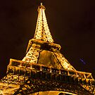 Eiffel Tower by night by Mahjabeen Mankani