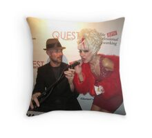 Fabulous celebrities Throw Pillow