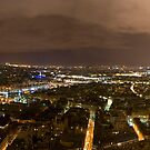 Paris Panorama 2 by Mahjabeen Mankani