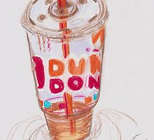 iced coffee by Xtianna