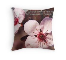 Thy blessing is upon Thy people Throw Pillow