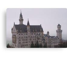 Bavarian Fairy tale Castle Canvas Print