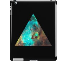 Green Galaxy Triangle iPad Case/Skin