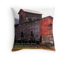 Thou hast brought his strongholds to ruin Throw Pillow