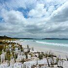 beach scene by SUBI