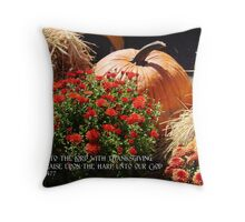 Sing unto the Lord Throw Pillow