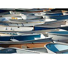 dinghy traffic Photographic Print