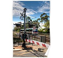 Guildford Railway Crossing   Poster