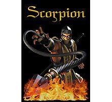 Mortal Kombat - Scorpion Photographic Print