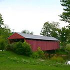 Milton Covered Bridge in WV by fotoflossy