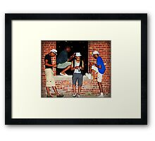 The Guys Cellulars Framed Print
