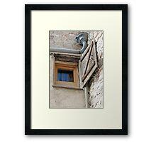 Corner Competition Framed Print
