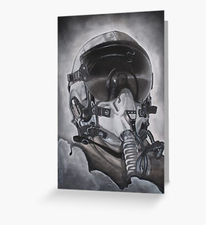 The Aviator Greeting Card