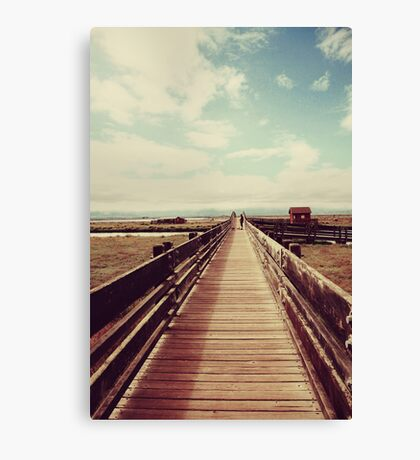 Straight to the Clouds Canvas Print