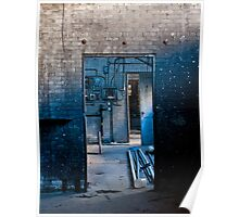 The Dirty Blue Doorway Poster