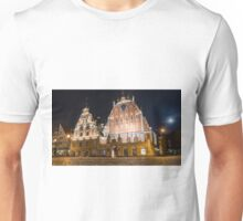House of the Blackheads in Riga Unisex T-Shirt