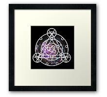 Galaxy Ruins of Arceus Framed Print