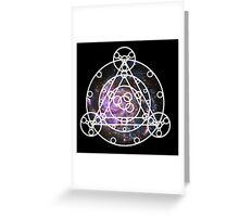 Galaxy Ruins of Arceus Greeting Card