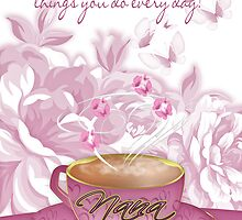 Nana Greeting Card Birthday Or Mother's Day by Moonlake