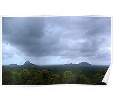 Glass house mountains, QLD, Australia  Poster