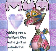 Mother's Day With Patchwork Monster by Moonlake
