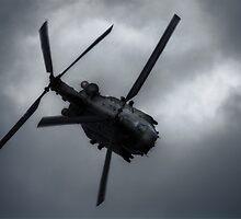 Chinook CH-47 by Nigel Bangert