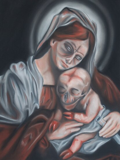 Madonna & Child by Joe Dragt