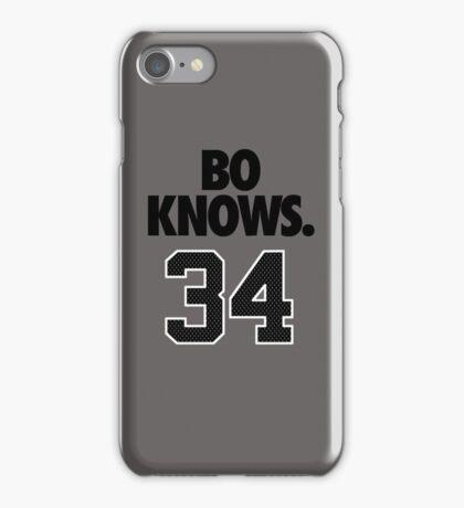 Bo Knows. 34 iPhone Case/Skin