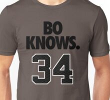 Bo Knows. 34 Unisex T-Shirt