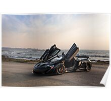 Siniser McLaren P1: Wings Up Poster